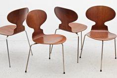 Muurahaistuolit 4kpl, Arne Jacobsen