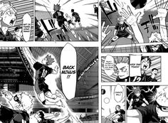 Read manga Haikyuu!! 238 - Attack and Defense online in high quality