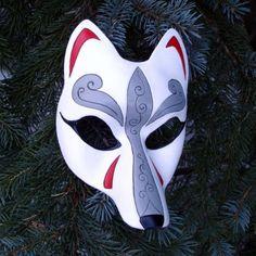Kitsune masks - masks for practice