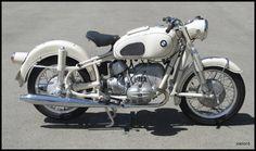 1965 Dover White BMW R69S