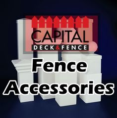 Our designers are experts in a variety of products and systems, find out which: http://www.capitaldeckandfence.ca/fences/fence-accessories/ #Ottawa