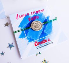 2020 Lucky Charm Bracelet or Pendant - Adjustable Bracelet or Pendant - Gift for the New Year Lucky Charm Bracelet, Adjustable Bracelet, Handmade Jewelry, Charmed, Christmas Ornaments, Pendant, Create, Holiday Decor, Bracelets