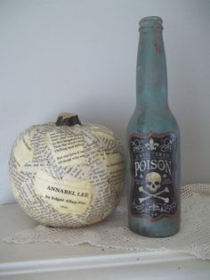 Hey, I found this really awesome Etsy listing at https://www.etsy.com/listing/458260554/poison-bottle-painted-apothecary-bottle