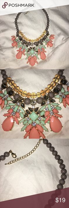 Bling statement necklace. Never worn. No flaws Statement necklace Jewelry Necklaces