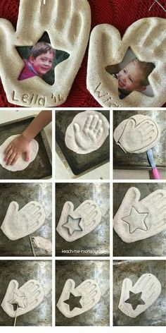 Handprint & Photo Keepsake Ornament DIY Fathers Day Gift Ideas from Kids DIY Birthday Gifts for Dad Diy Birthday Gifts For Dad, Diy Father's Day Gifts, Father's Day Diy, Birthday Diy, Birthday Ideas, Diy Xmas Gifts For Dad, Birthday Presents, Mother Birthday Gifts, 25th Birthday