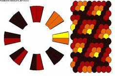 Kumihimo Bracelet Pattern 2