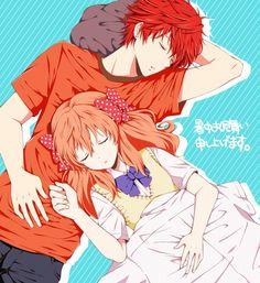 Sakura & Mikoshiba (Pixiv Id 6359415) | Gekkan Shoujo Nozaki-kun #manga