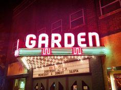 Frankfort, Michigan~ Great little restored Art Deco theater.