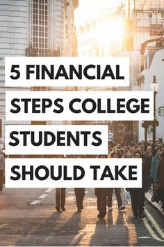 Here are 5 things that college students can do right now to start staving money and avoiding a mass amount of debt!