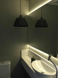 Lavabo: iluminação 1
