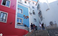 A Self Guided Walk Through The Alfama District in Lisboa