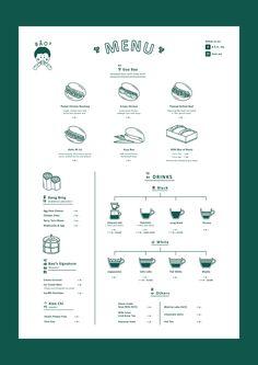 B Ā O ² logo & menu design on BehanceYou can find Restaurant menu design and more on our website.B Ā O ² logo & menu design on Behance Restaurant Design, Cafe Menu Design, Food Menu Design, Restaurant Branding, Menu Board Design, Restaurant Restaurant, Restaurant Poster, Branding And Packaging, Packaging Design