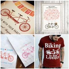 vintage bicycle wedding invitations bicycle guest book bike wedding favors