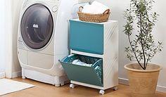 【選べる4色】洗濯物をスマートに隠せるハンドル付きバスケット《ランドリーボックス2段 Clevan322》通気設計のメッシュカゴは取り外し可能で持ち運 | LUXA[ルクサ]のプレミアムチケットで、お得に贅沢体験を