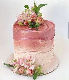 Birthday Cake For Daughter, Birthday Cake For Women Elegant, Elegant Birthday Cakes, Beautiful Birthday Cakes, Birthday Cakes For Women, Easy Birthday Cake Recipes, Funny Birthday Cakes, Easy Cake Decorating, Birthday Cake Decorating