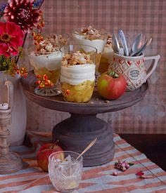 ▷ Apfel-Crumble im Glas Rezept - Apfel Crumble Glas Schicht Dessert, Nachtisch Herbst Gäste Zimt kalt warm, Rezept, m. Beef Kabob Recipes, Sirloin Recipes, Corned Beef Recipes, Apple Recipes, Sweet Recipes, Beef Sirloin, Fondue Recipes, Drink Recipes, Trifle Desserts