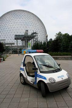 Electric Police Car..#jorgenca SPVM Police de Montréal sur le site d'Expo 1967