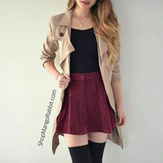 Shared by YouDidWellJongHyun️. Find images and videos about fashion, hair and outfit on We Heart It - the app to get lost in what you love. Teen Fashion Outfits, Mode Outfits, Cute Fashion, Outfits For Teens, Fall Outfits, Fashion Hair, Casual Teen Fashion, Cute Skirt Outfits, Cute Casual Outfits