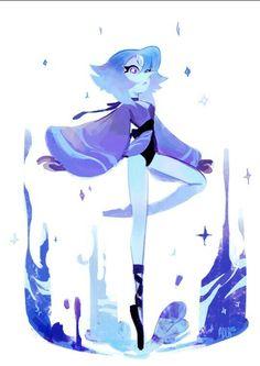 Pearl + Lapis lazuli