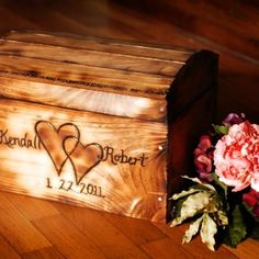 Items similar to Small Wedding Card Box in Rustic Finish - Personalized card box on Etsy Wedding Cards Keepsake, Rustic Card Box Wedding, Keepsake Boxes, Fall Wedding, Our Wedding, Wedding Stuff, Dream Wedding, Wedding Dreams, Magical Wedding