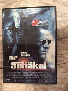 DVD Der Schakal Bruce Willis Und Richard Gere