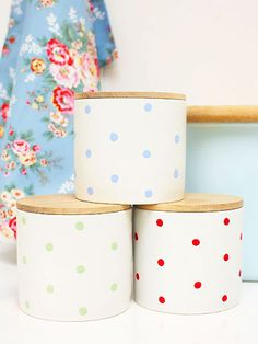 PP may10 paint spotty storage jars 150+ new looks for every room, made by you - Craft - allaboutyou.com