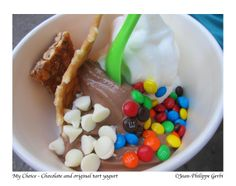 My Choice self served Frozen Yogurt and Juice bar in NYC, New York | I just want to eat!