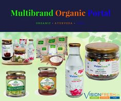 Vision Fresh is an online #eCommerce Venture for organic Products. It Presents Finest Quality of Certified #Organic Food Products.