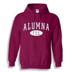 Gamma Sigma Sigma Alumna Sweatshirt Hoodie