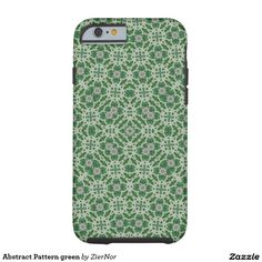 Abstract Pattern green Tough iPhone 6 Case