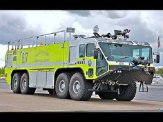 ***EXCLUSIVE*** Calgary Police Escort Airport Fire Truck & Airport Authority Sweeper!! - YouTube
