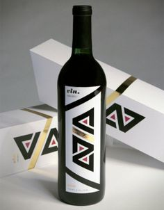 Awesome wine bottle design! Inspirational for branding as well.
