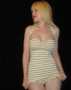 The Paris Maillot by TheRedDolly on Etsy, $72.00