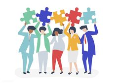 Character of business people holding puzzle pieces illustration | free image by rawpixel.com Free Illustrations, People Illustrations, Image Fun, Puzzle Pieces, Designer Wallpaper, Business Design, Fabric Patterns, Fun Crafts, Free Images