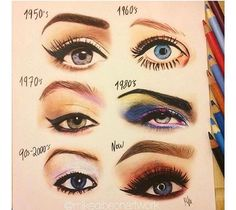 Brow and shadow trends