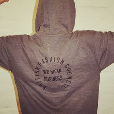 inspiration from Natalie Massenet Thompson Fashion Council London Fashion, Hoodies, Sweaters, Inspiration, Biblical Inspiration, Sweatshirts, Sweater, Hoodie