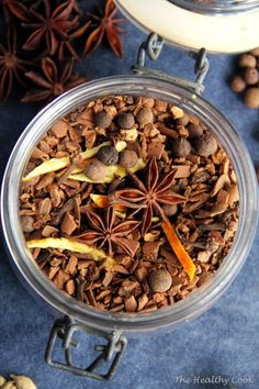 Mulling Spices & Mulled Wine or Drink – Μπαχαρικά για Ζεστό Αρωματικό Κρασί ή Ρόφημα