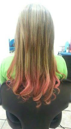 Puntas pink!!