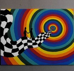 Painting ideas on canvas trippy ideas - donnamorton. - - Donna Morton - Painting ideas on canvas trippy ideas - donnamorton. - Painting ideas on canvas trippy ideas - donnamorton. Easy Canvas Art, Simple Canvas Paintings, Small Canvas Art, Mini Canvas Art, Cool Paintings, Canvas Ideas, Ideas For Canvas Painting, Trippy Drawings, Psychedelic Drawings