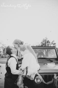 You may kiss the bride.