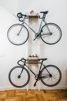 DIY Bicycle Rack Built For Two — Apartment Therapy Reader Project Tutorials | Apartment Therapy