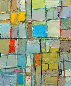 Spring Mood - Abstract Composition - Abwgc2 Painting