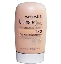 WET n WILD Ultimate Sheer Tinted Moisturiser – Sun Kissed 183 - http://best-anti-aging-products.co.uk/product/wet-n-wild-ultimate-sheer-tinted-moisturiser-sun-kissed-183/