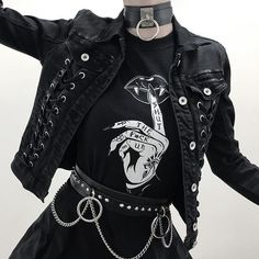 Hipster Outfits – Page 7541045291 – Lady Dress Designs Hipster Outfits, Edgy Outfits, Mode Outfits, Grunge Outfits, School Outfits, Summer Outfits, Black Outfit Grunge, Women's Gothic Outfits, Cute Punk Outfits
