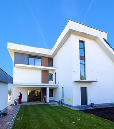 Baumit - Fasada Roku Home Fashion, Mansions, House Styles, Outdoor Decor, Home Decor, Decoration Home, Manor Houses, Room Decor, Villas
