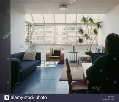 Download this stock image: Brunswick Centre, London, United Kingdom, Levitt Bernstein/ Patrick Hodgkinson (1968-72), Brunswick centre a flat on the third - BAJP32 from Alamy's library of millions of high resolution stock photos, illustrations and vectors.