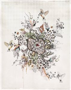 Abstract Painting, Print of Original Watercolors and Ink Painting, Modern Art, Watercolor Painting von lizkapiloto auf Etsy https://www.etsy.com/de/listing/174411964/abstract-painting-print-of-original