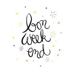 Bon week-end www.crayondhumeur.com