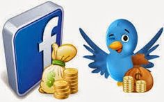 Make money with Facebook, Twitter, youtube and Google+ We all involve some social networking site such as Face book, Twitter, Google+ etc. So we wish to make money with social networking sites. Here I get an exciting site for making money by liking the fan page, following the people and watching videos. That's very simple and interesting.