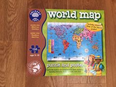 10 best orchard toys images on pinterest orchard toys educational orchard toys world map jigsaw poster 5 10 years gumiabroncs Choice Image